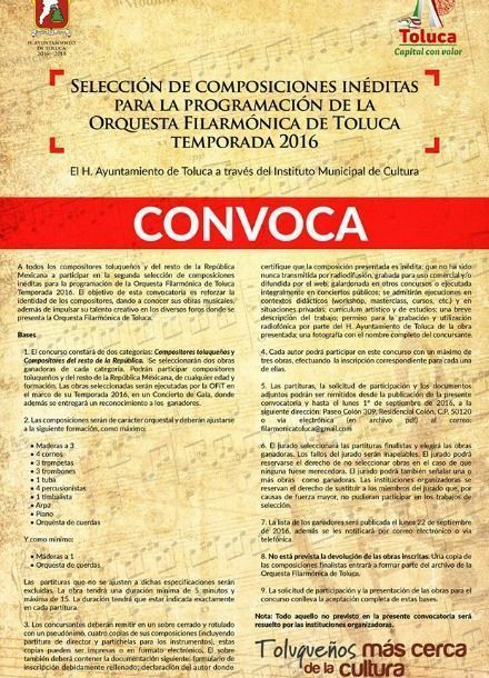 Lanza la ofit convocatoria 2016 for Convocatoria maestros 2016