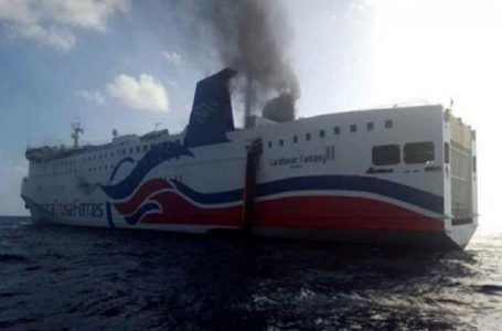 VIDEO: Se incendia ferry con más de 500 a bordo