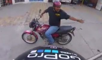 VIDEO: Agreden a otro ciclista; surge #LordMoto