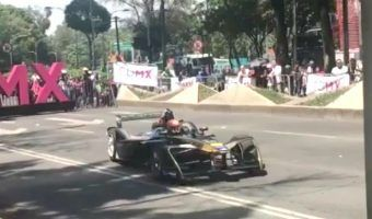 VIDEO: Corre Esteban Gutiérrez en Reforma