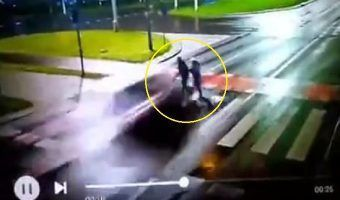 VIDEO: Cámara de seguridad capta atropello brutal