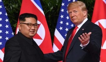 "VIDEO: Trump asegura que él y Kim Jong-un ""son guapos"""