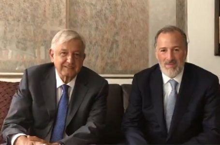 VIDEO: Se reúnen AMLO y Meade en casa de Copilco