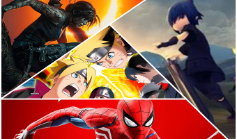 Marvel's Spider-Man, Shadow of the Tomb Raider, Naruto To Boruto