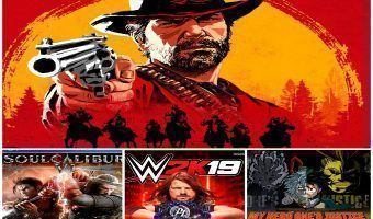 Reseña Red Dead Redemption 2, Soul Calibur VI, WWE 2K 19 y My Hero One's Justice