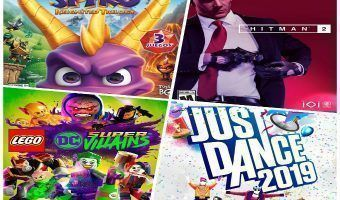 Reseña: Spyro, Just Dance 2019, Hitman 2 y LEGO DC Super-Villains