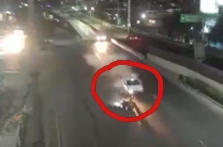 VIDEO: Atropellan a motociclista en Naucalpan