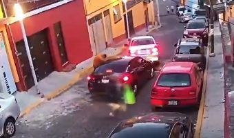 VIDEO: Denuncian atracos recurrentes a automovilistas en Santa Fe