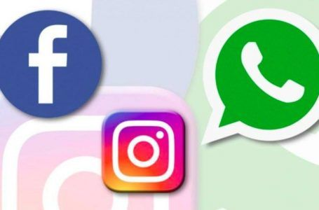 Fallan WhatsApp, Facebook e Instagram